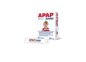 Apap Junior sasz. 250mg x 10szt