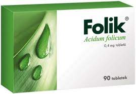 Folik 0,4mg x 90 tabl.