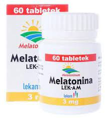Melatonina 3mg x 60 tabl.