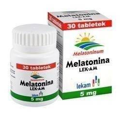 Melatonina 5mg x 30 tabl.