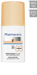 PHARMACERIS F Fluid nawilżający 03 TANNED, 30ml