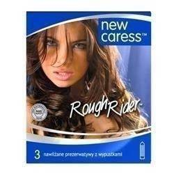 Prezerwatywy NEW CARESS ROUGH RIDER 3szt.