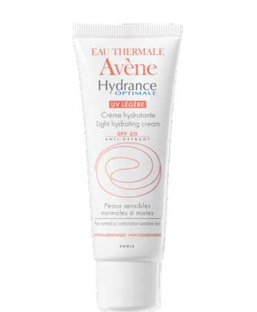 AVENE HYDRANCE OPTIMALE UV Kem Legere SPF20,  40ml