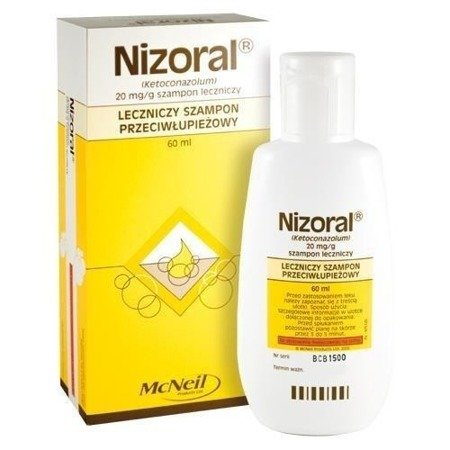 Nizoral szamp.60ml